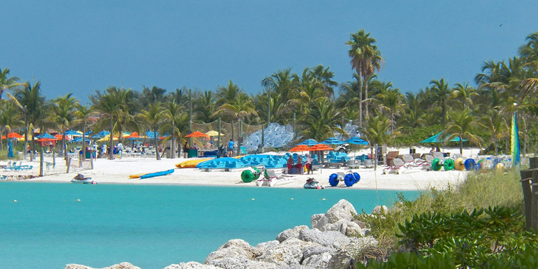 Best Private Caribbean Island - Castaway Cay