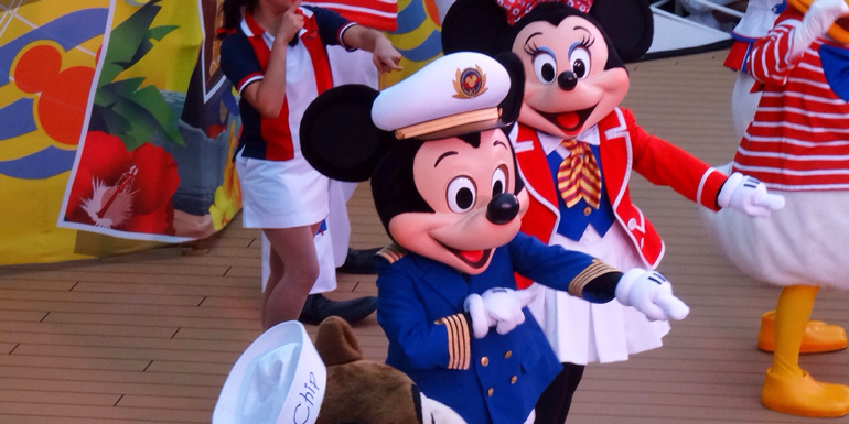 Best Line for Entertainment - Disney Cruise Line