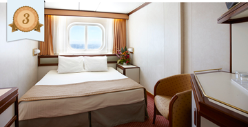 best oceanview cruise ship cabin princess