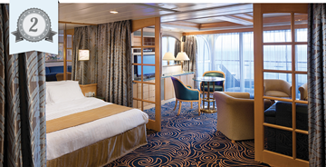 best cruise ship suite royal caribbean