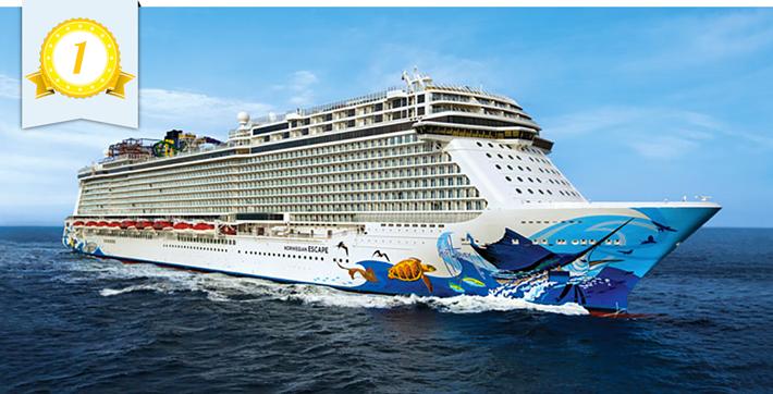 best new ship norwegian escape