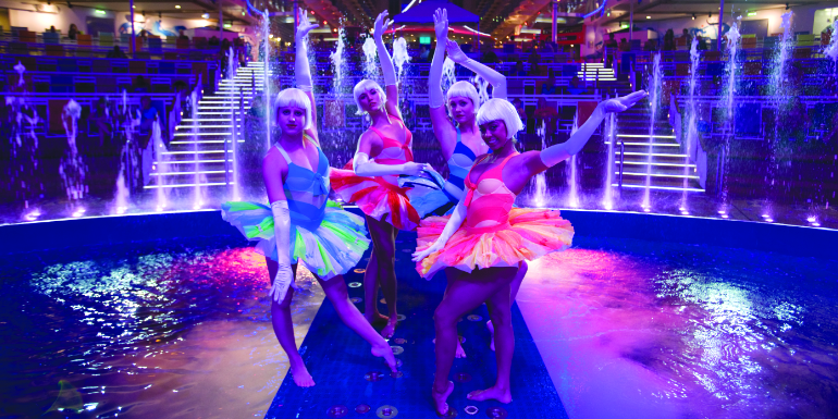 royal caribbean best cruise line entertainment