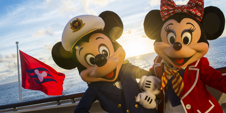 best cruise line first timers disney