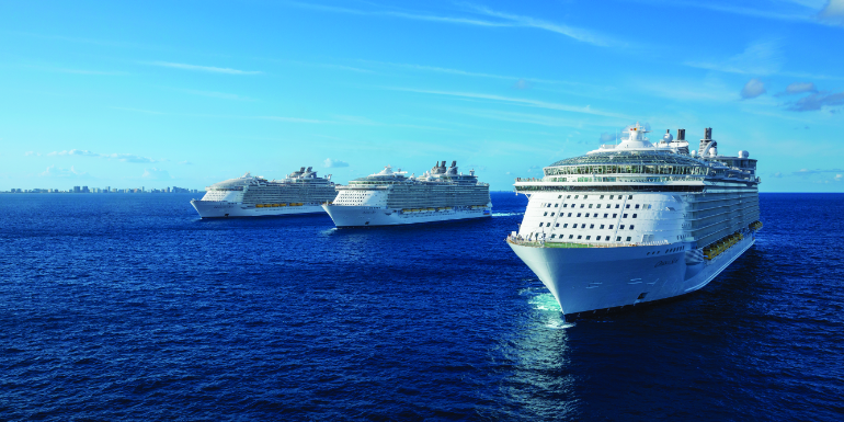 royal caribbean best overall cruise line award