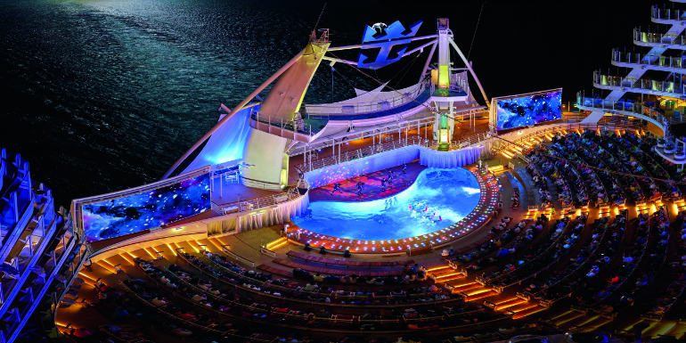 royal caribbean aquatheater show entertainment 2019
