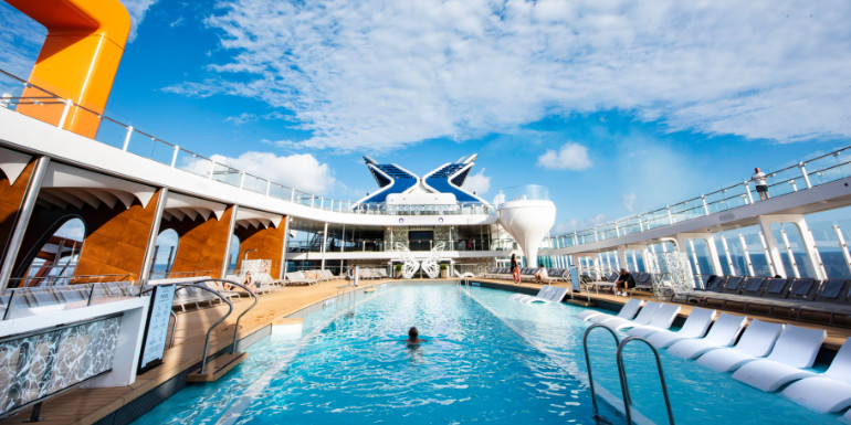 celebrity edge pool deck cruise ship