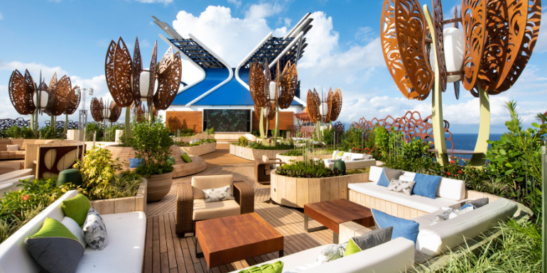 celebrity edge cruise rooftop garden features