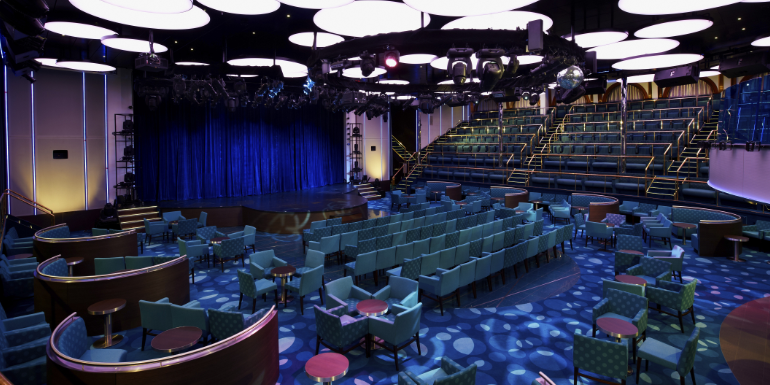 carnival sunshine tips liquid lounge theater