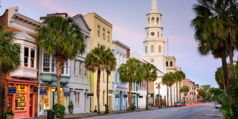 charleston south carolina us departure cruise ports