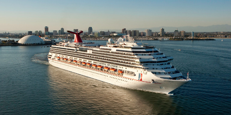 carnival splendor long beach california port