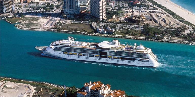 radiance of the seas port miami royal caribbean