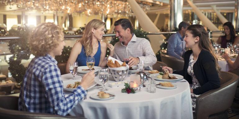 celebrity cruises family main dining room