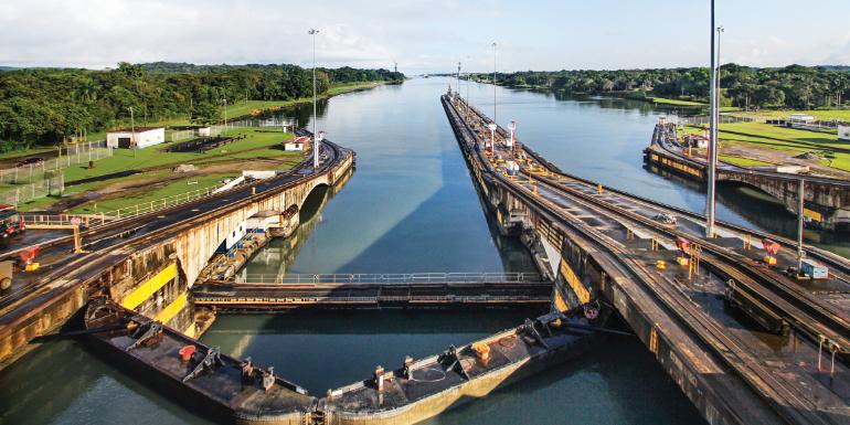 panama canal locks princess cruises