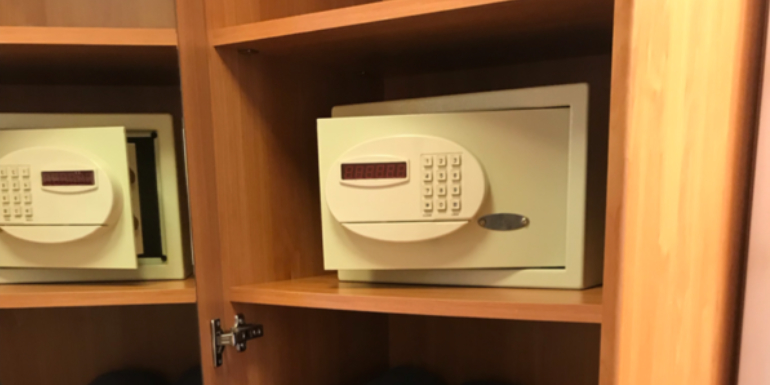 cruise stateroom cabin safe valuables immediately