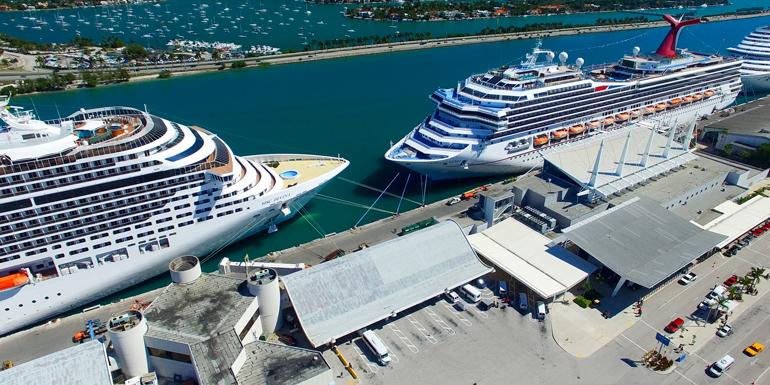 miami cruise to nowhere port