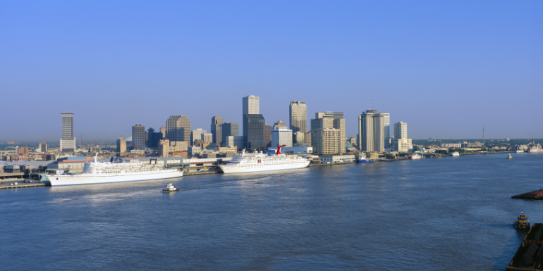 new orleans cruise to nowhere port