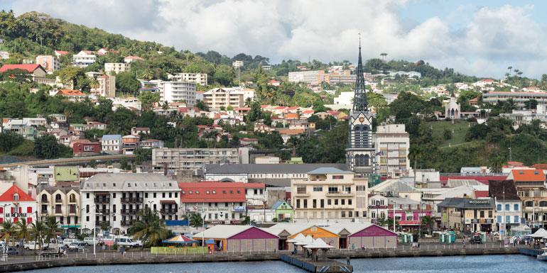 fort de france bad caribbean ports