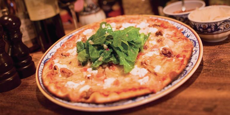 norwegian cruise la cucina pizza dining