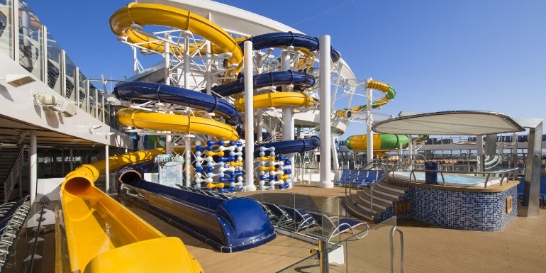 royal caribbean harmony seas water park