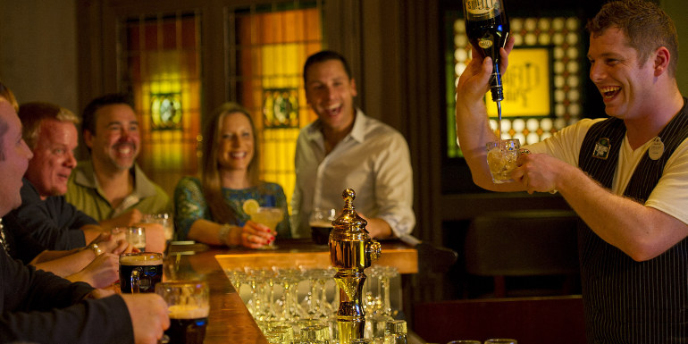 irish pub disney cruise beer st. patrick