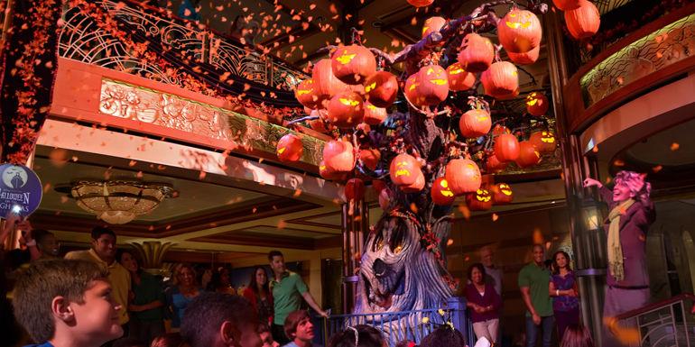 disney cruise pumpkin tree halloween holidays
