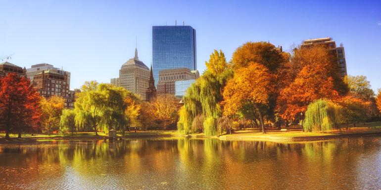 boston massachusetts fall foliage cruise month