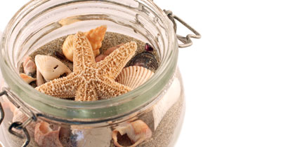 cruise crafts pinterest shells in jar