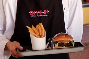 dive in holland america cruise burgers