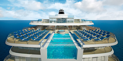 infinity pool viking star dream ship