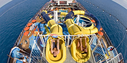 carnival dream water slides