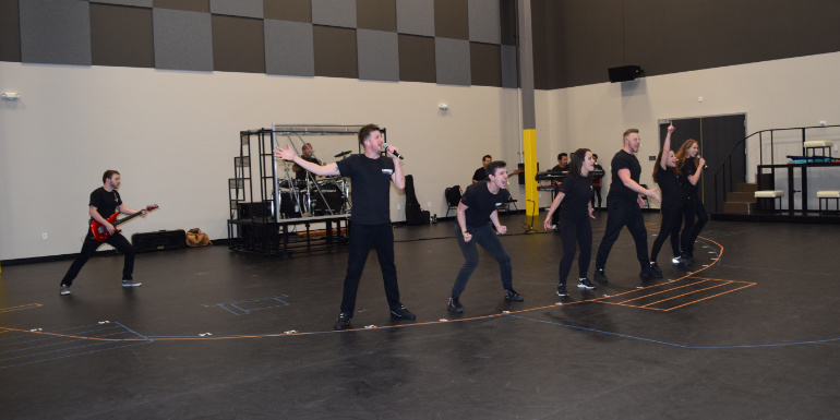 carnival cruise studios entertainment show rehearsal