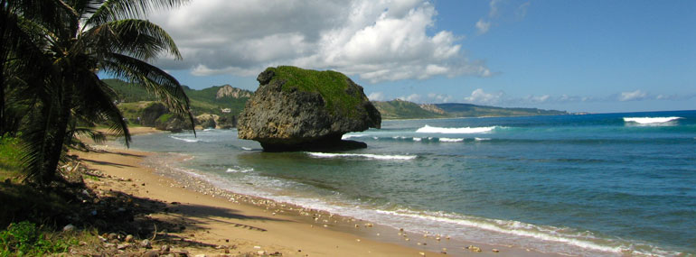 Where is Bathsheba Beach?