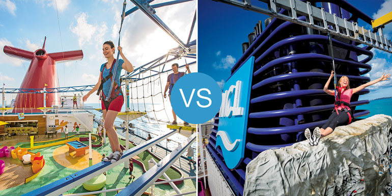norwegian vs carnival better cruise ship