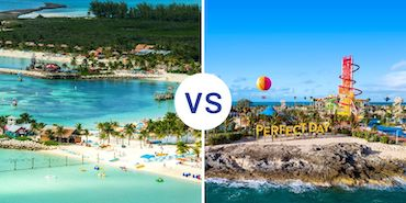 Castaway Cay vs. Perfect Day at CocoCay: Smackdown!