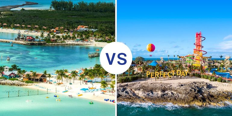 Castaway Cay Vs Perfect Day At Cococay Smackdown