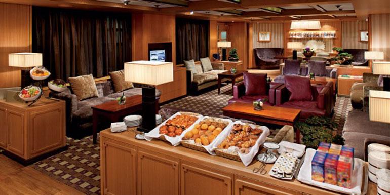 holland america neptune lounge