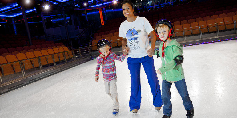 ice skating rink royal caribbean entertainment activities