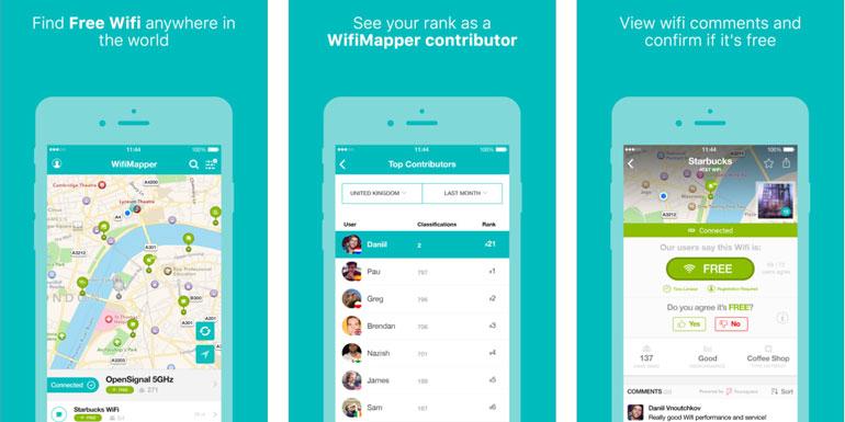 wifi mapper cruise app port