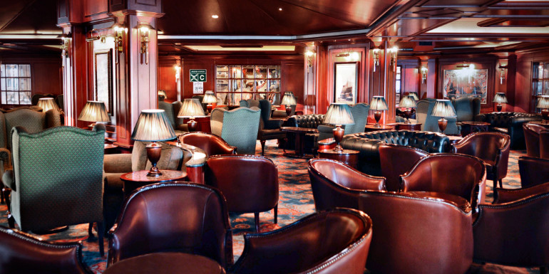 princess cruises wheelhouse bar pub lunch