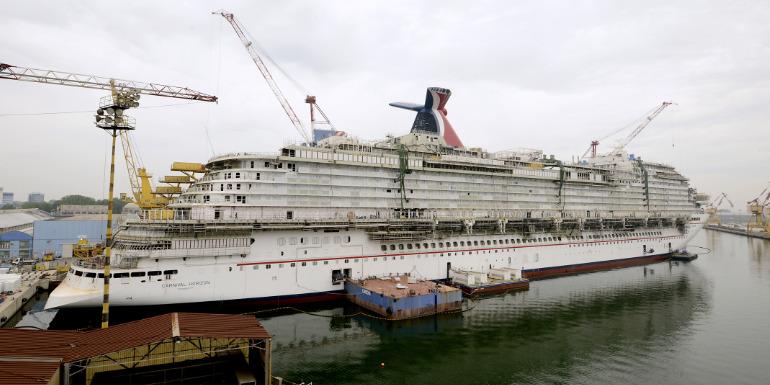 carnival horizon construction cruise ship design