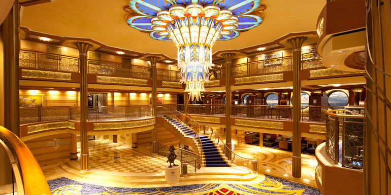 cruise ship boat vocab terms atrium