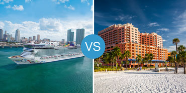 Cruises vs. Resorts: Smackdown!