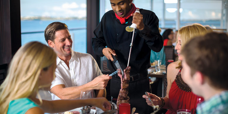 moderno specialty restaurant cruise special offer