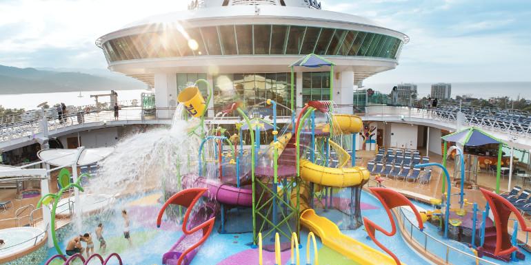 splashaway bay water park kids royal caribbean