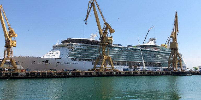 cruise ship refurbishment change review ratings