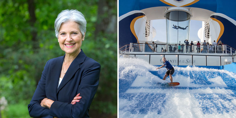 jill stein green party royal caribbean