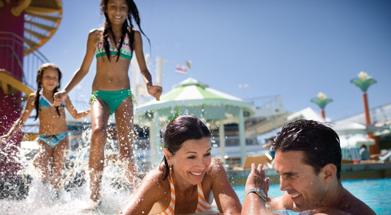 family pool cruise splash norwegian getaway