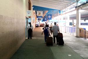 drop off luggage cruise
