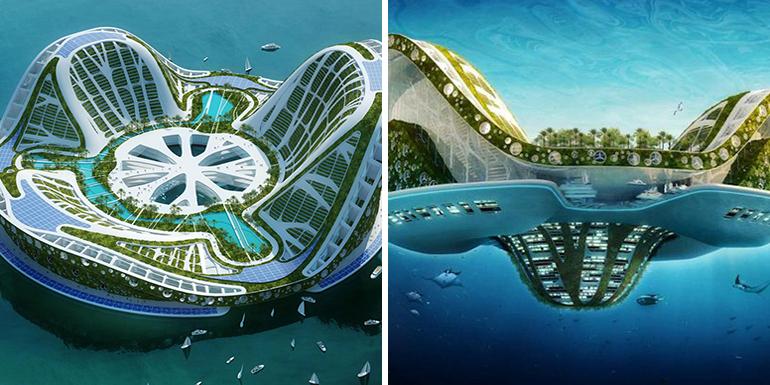 floating city cruise ship