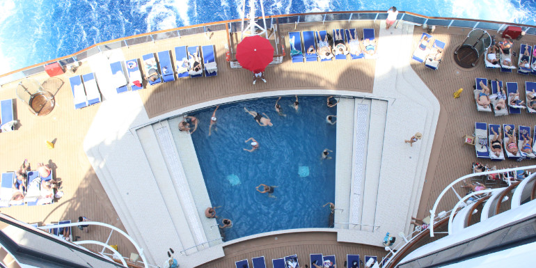 msc seaside south beach pool deck